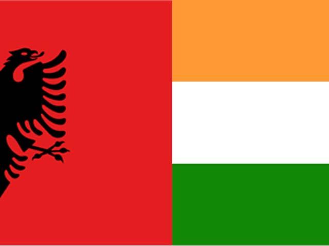 albania and india