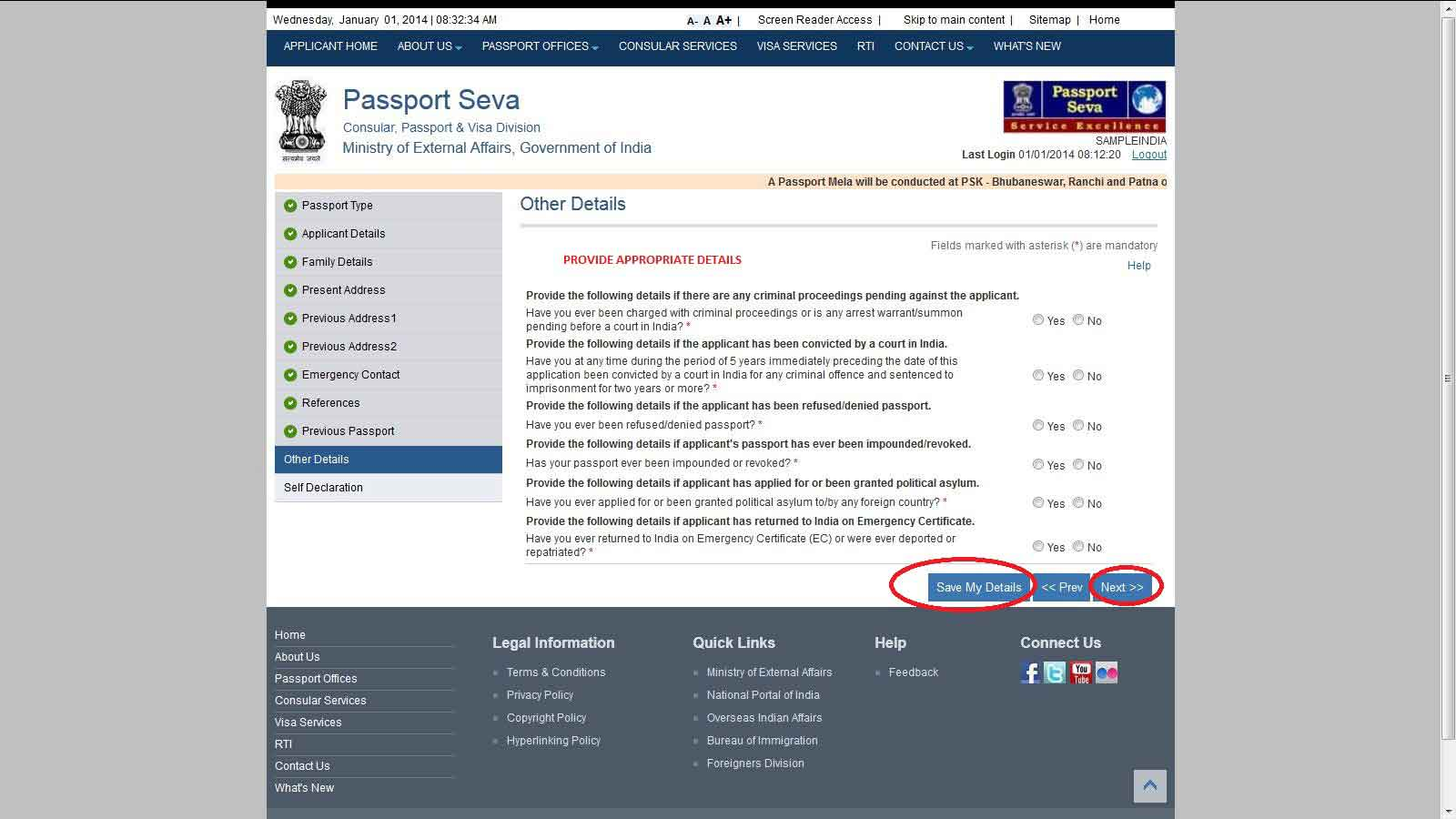 How To Apply For Passport Online, Online Passport Applicationtaxplore