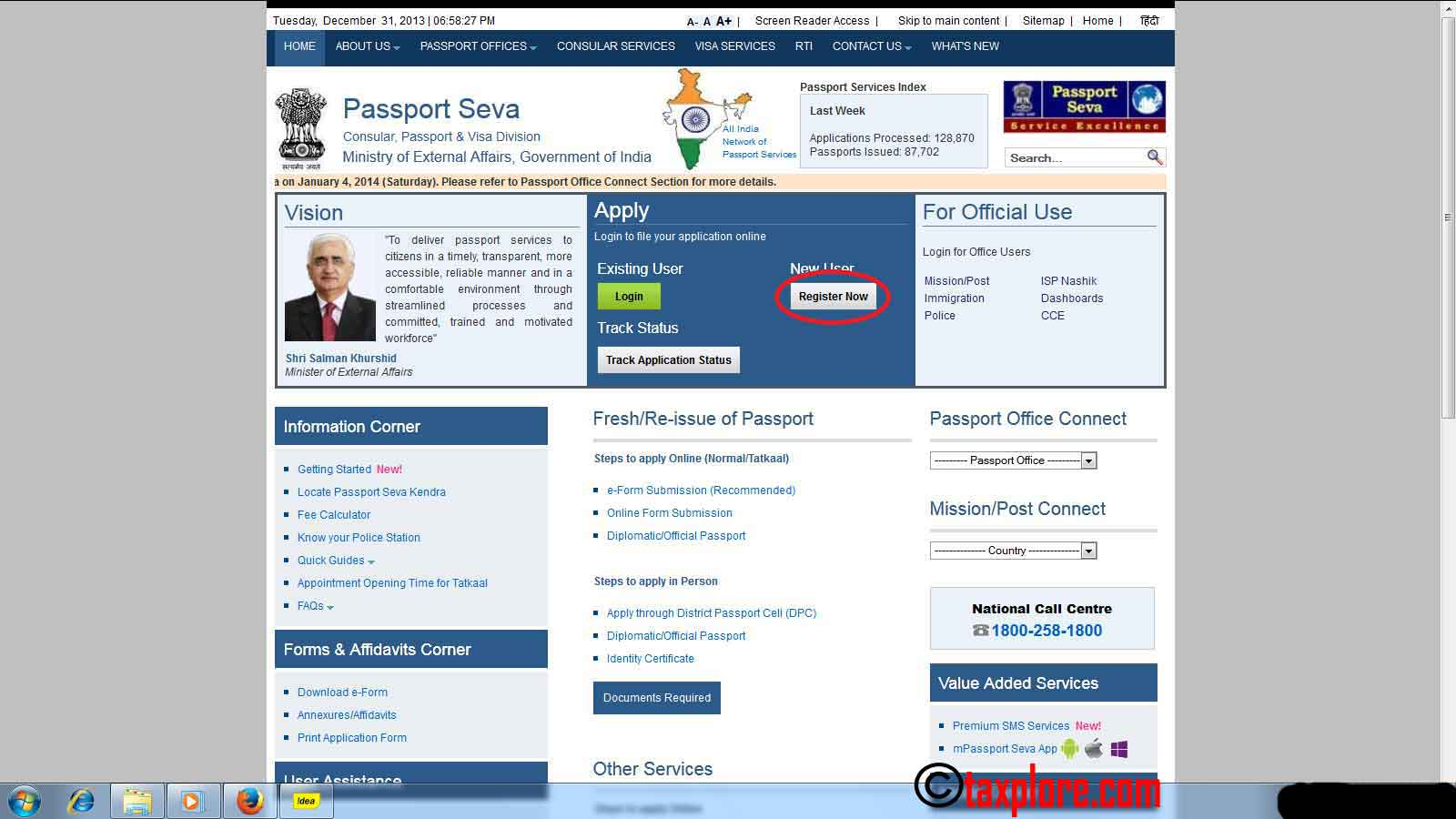 How to apply for passport online online passport application taxplore how to apply for passport online 1 falaconquin