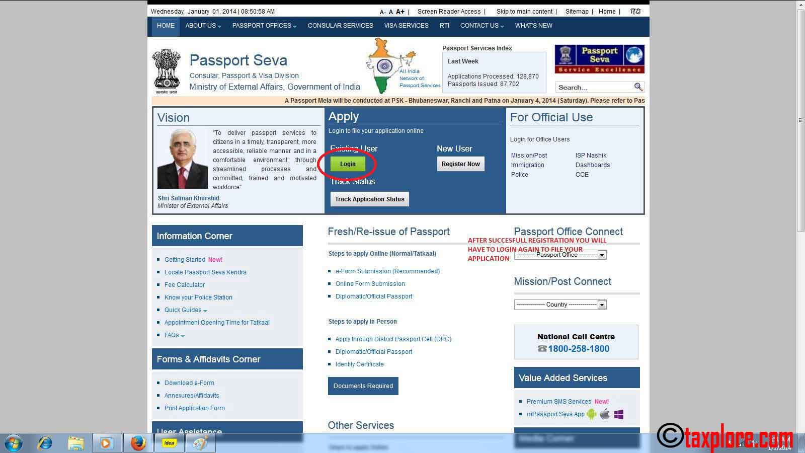 How to apply for passport online online passport application taxplore how to apply for passport online 5 falaconquin
