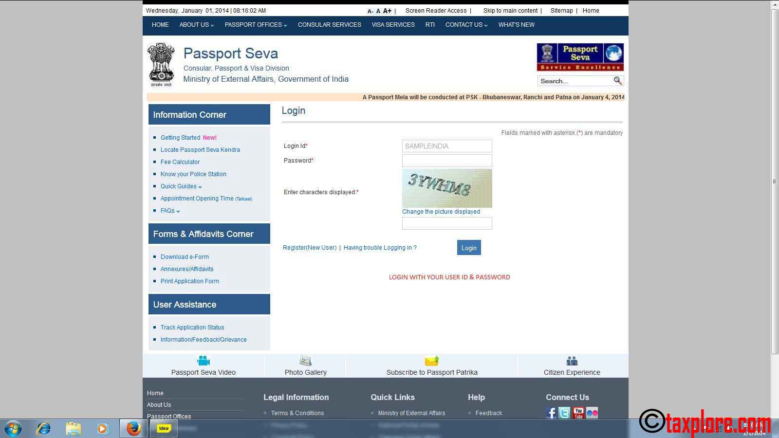 How to apply for passport online online passport application taxplore how to apply for passport online 6 falaconquin
